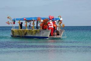 A four-week festive party in Fiji