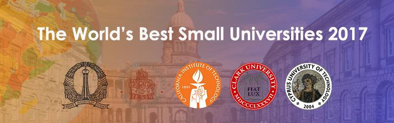 2017 BEST SMALL UNIVERSITY RANK