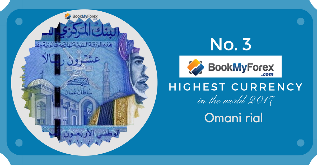 Highest Currency Rank 3 Omani Rial