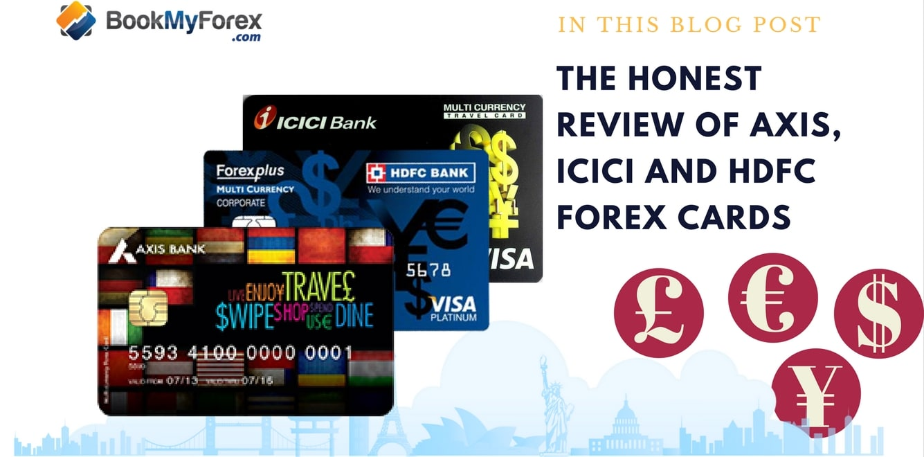 International credit card vs forex card