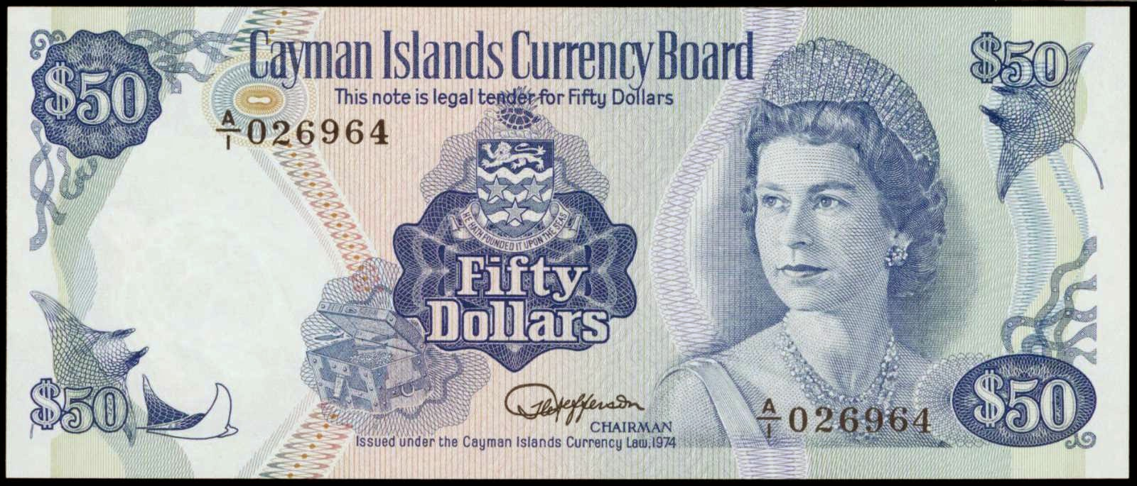 Worlds Strongest currency Rank 7 Cayman Islands