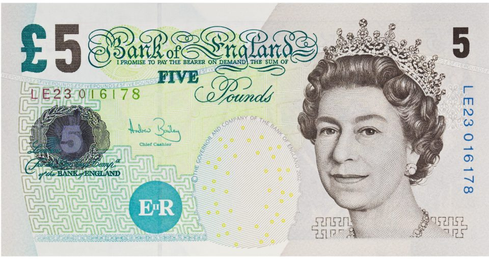World's Strongest Currency Rank 5 Bank of England