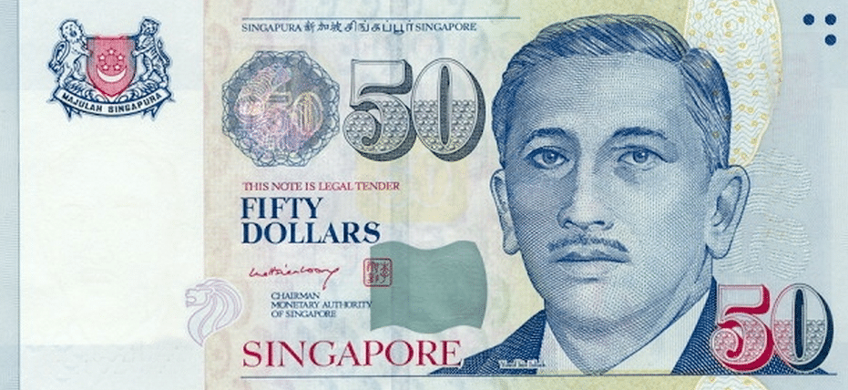 World's Strongest currency Rank 15 Singapore Dollars