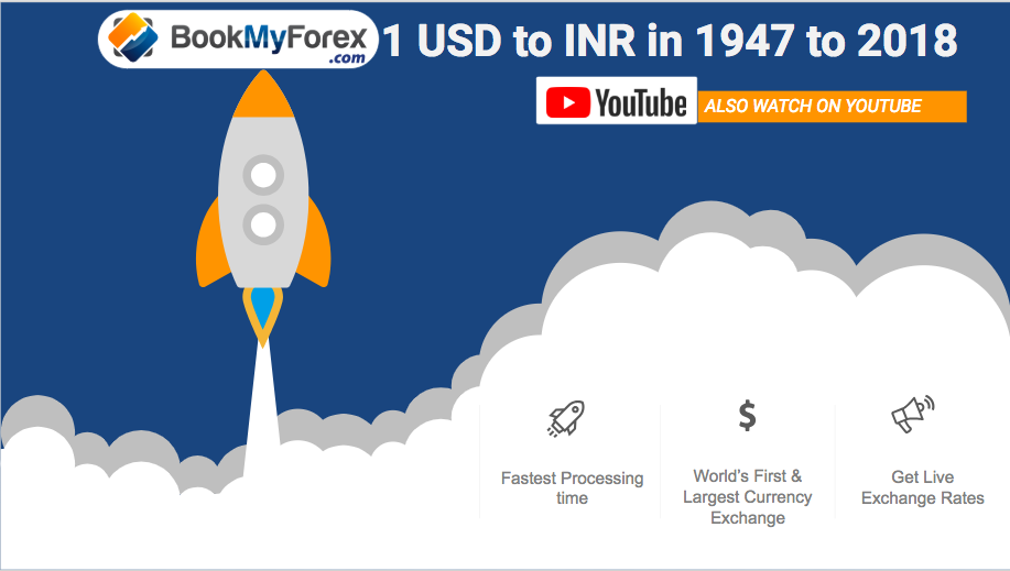 1 Usd To Inr From 1947 2019 Till Date Currency Exchange